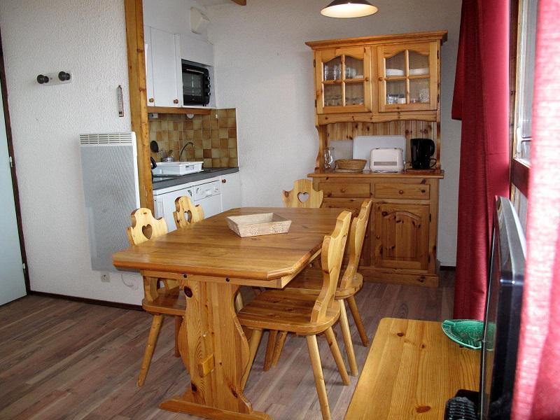 Ski verhuur Appartement 3 kamers 6 personen (438) - Résidence les Hameaux I - La Plagne - Keukenblok