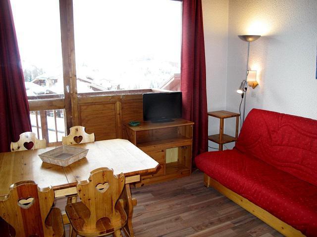 Ski verhuur Appartement 3 kamers 6 personen (438) - Résidence les Hameaux I - La Plagne - Tafel