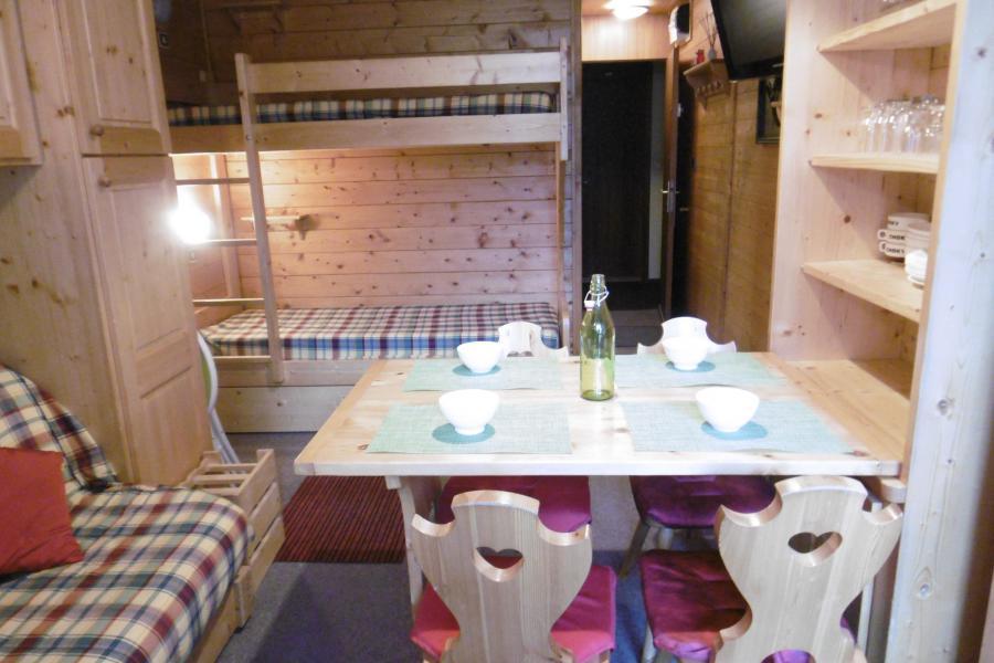 Ski verhuur Studio 3 personen (254) - Résidence les Hameaux I - La Plagne - Eetkamer