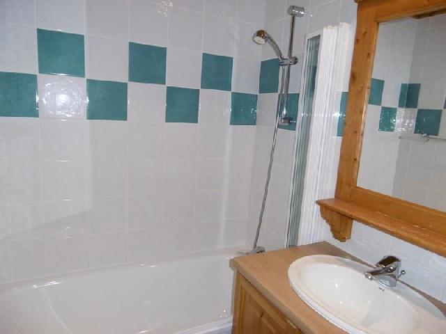 Location au ski Studio 3 personnes (213) - Résidence les Hameaux I - La Plagne - Salle de bains