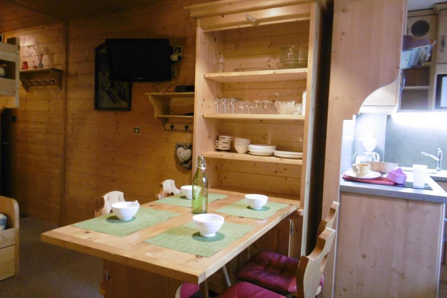 Location au ski Studio 3 personnes (254) - Résidence les Hameaux I - La Plagne - Table
