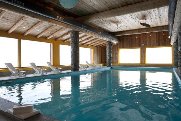 Location au ski Appartement 3 pièces 6 personnes (25A) - Résidence les Hauts Bois - La Plagne - Extérieur hiver