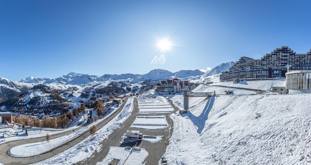 Location au ski Appartement 3 pièces 6 personnes (A24) - Résidence les Hauts Bois - La Plagne - Extérieur hiver