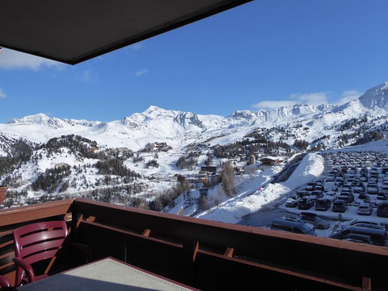 Vacances en montagne Appartement 4 pièces 8 personnes (B21) - Résidence les Hauts Bois - La Plagne - Extérieur hiver
