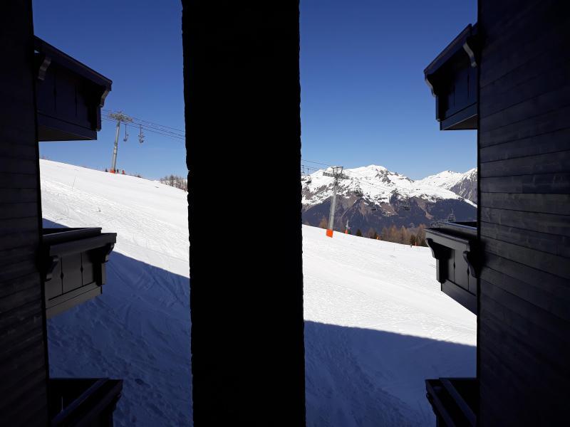 Location au ski Appartement 4 pièces 8 personnes (B21) - Résidence les Hauts Bois - La Plagne - Plan