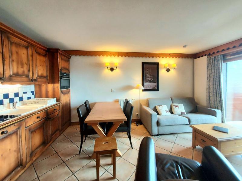 Location au ski Appartement 3 pièces 6 personnes (A38) - Résidence les Hauts Bois - La Plagne - Salle à manger