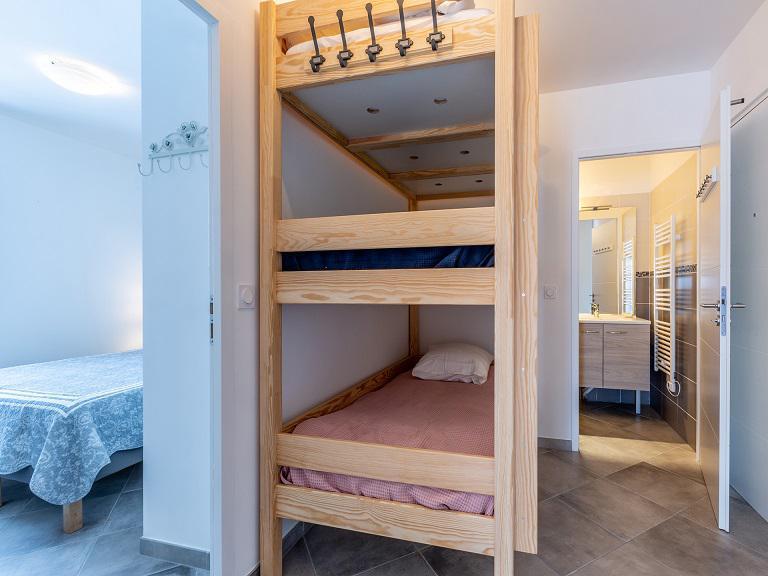 Location au ski Appartement 3 pièces 6 personnes (A405) - Résidence Lodges 1970 - La Plagne