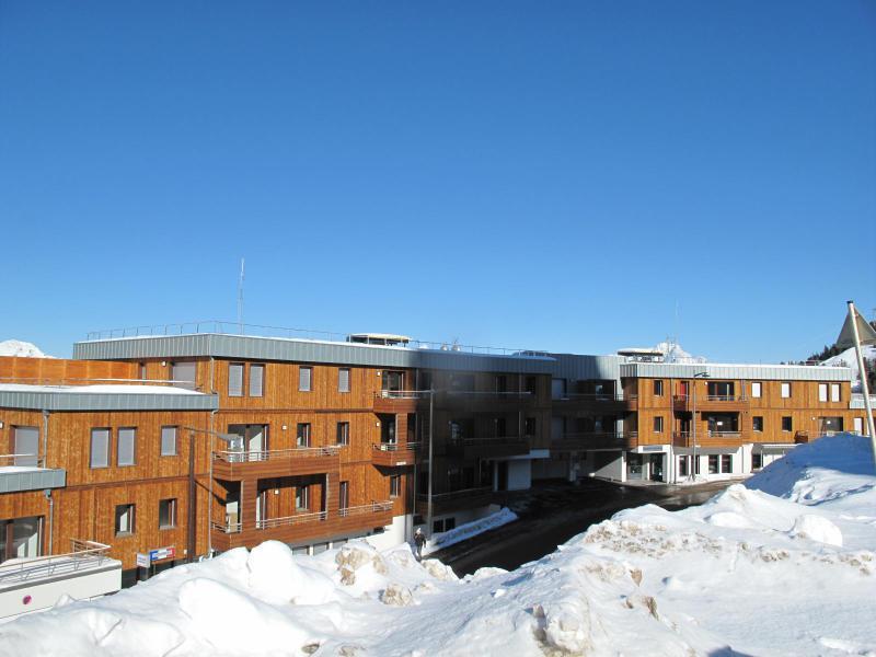 Location au ski Appartement 2 pièces 5 personnes (B605) - Résidence Lodges 1970 - La Plagne - Extérieur hiver