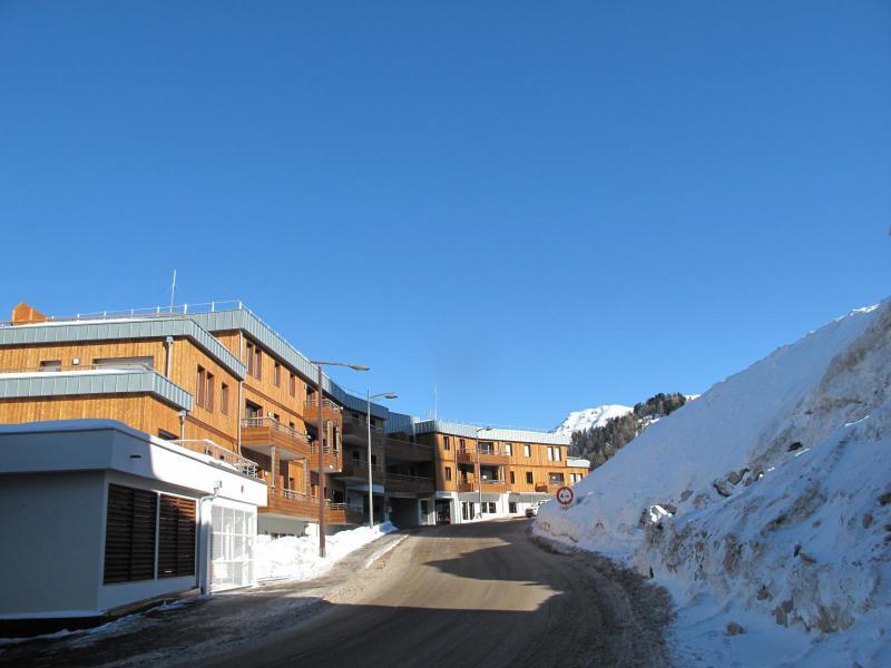 Wakacje w górach Apartament 2 pokojowy 5 osób (B605) - Résidence Lodges 1970 - La Plagne - Zima na zewnątrz