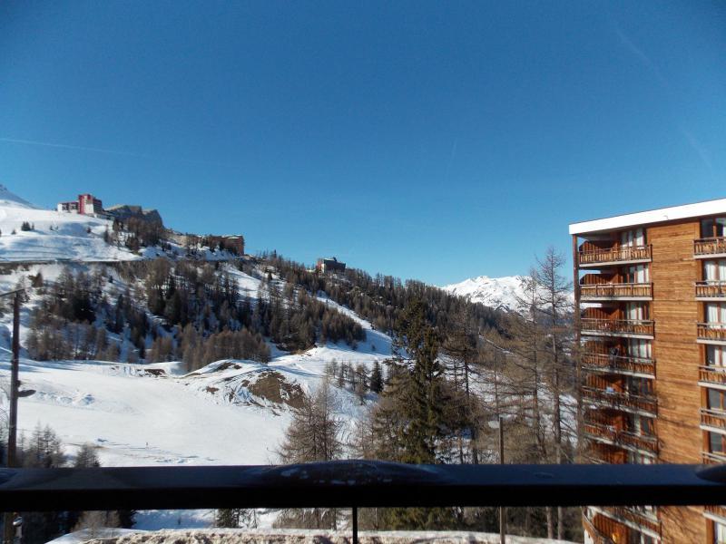 Location au ski Appartement 2 pièces 4 personnes (A407) - Résidence Lodges 1970 - La Plagne - Extérieur hiver