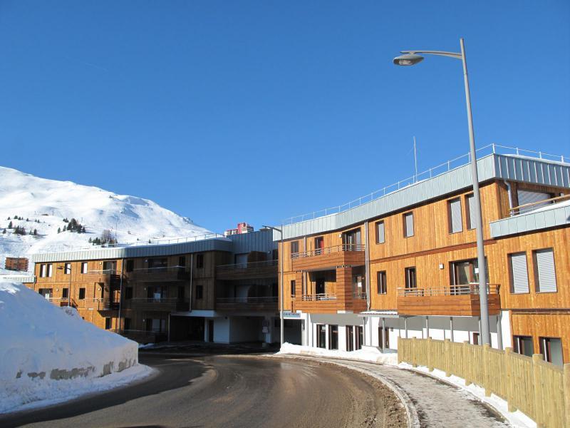 Каникулы в горах Апартаменты 2 комнат 6 чел. (A604) - Résidence Lodges 1970 - La Plagne - зимой под открытым небом