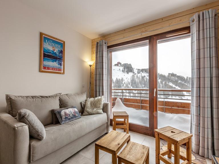 Location au ski Appartement 3 pièces 6 personnes (A507) - Résidence Lodges 1970 - La Plagne - Appartement