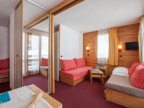 Location au ski Résidence Maeva Emeraude - La Plagne - Séjour