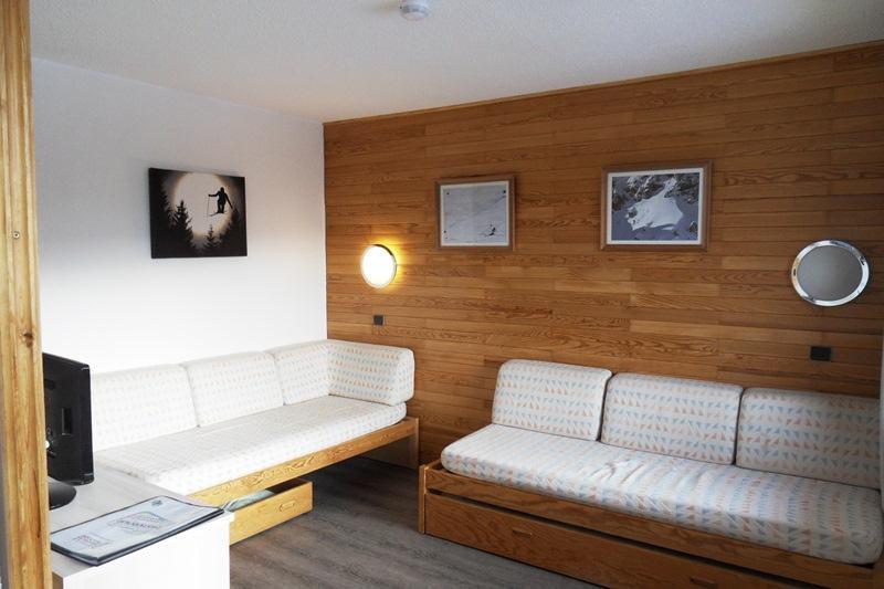 Аренда на лыжном курорте Апартаменты 2 комнат 6 чел. (101) - Résidence Onyx - La Plagne