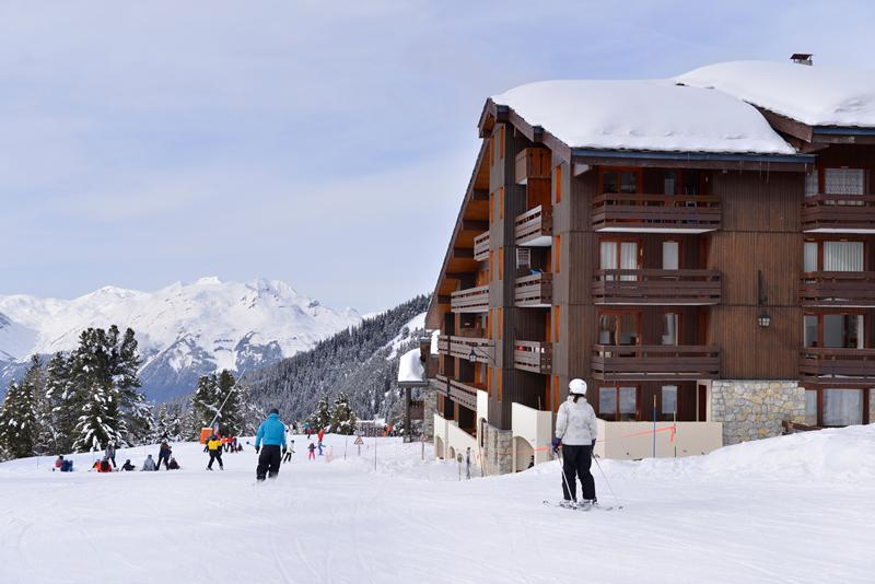 Location au ski Résidence Onyx - La Plagne - Extérieur hiver