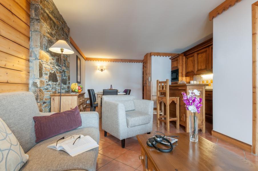Location au ski Résidence P&V Premium les Hauts Bois - La Plagne - Canapé