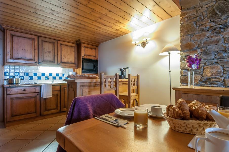 Alquiler al esquí Résidence P&V Premium les Hauts Bois - La Plagne - Cocina