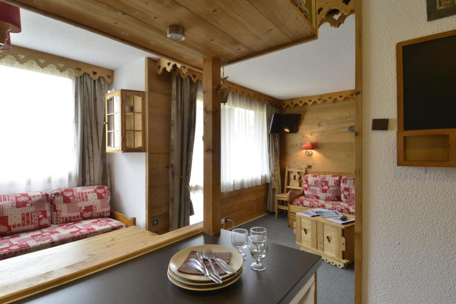 Аренда на лыжном курорте Апартаменты 2 комнат 6 чел. (225) - Résidence Pierre de Soleil - La Plagne - апартаменты