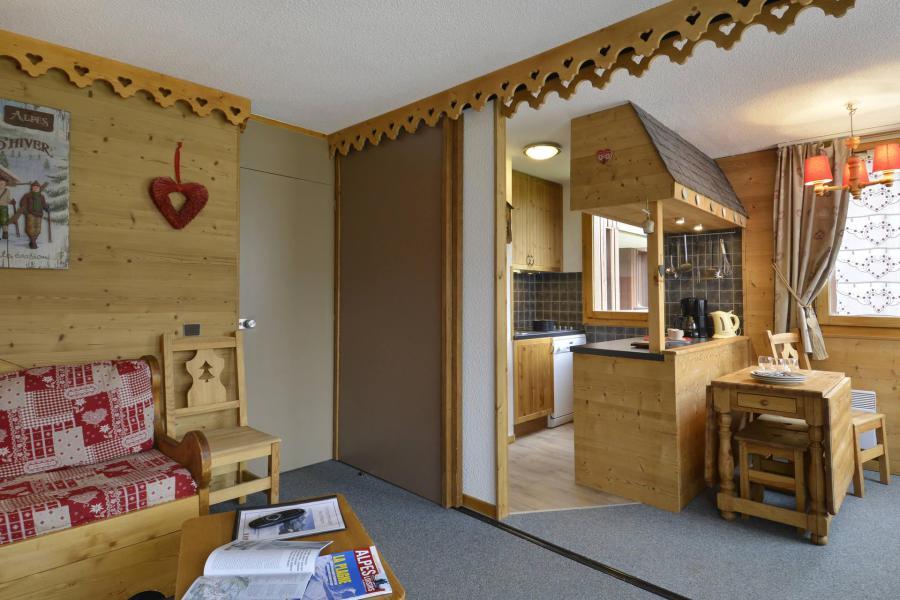Аренда на лыжном курорте Апартаменты 2 комнат 6 чел. (225) - Résidence Pierre de Soleil - La Plagne - Кухня