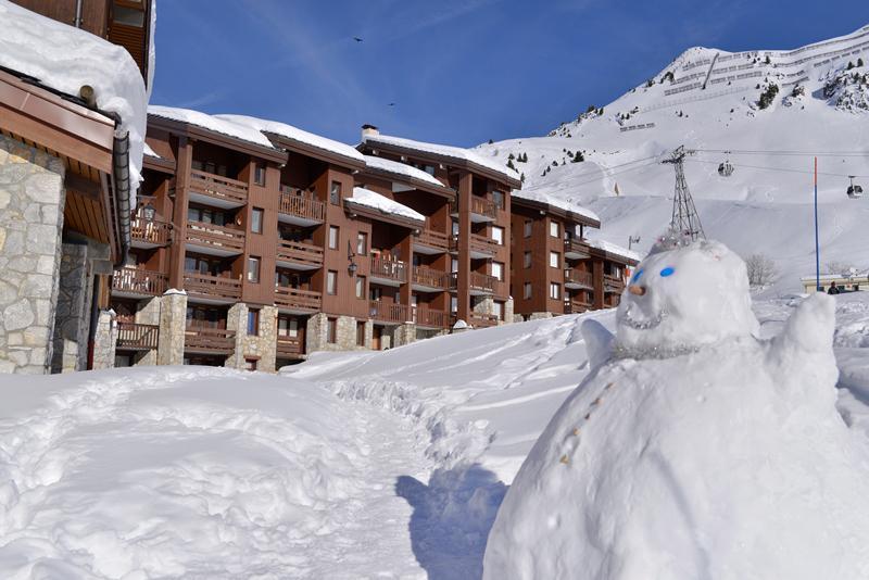 Wakacje w górach Résidence Pierre de Soleil - La Plagne - Zima na zewnątrz