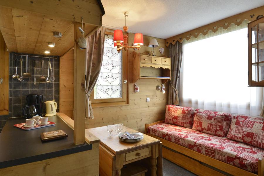 Location au ski Appartement 2 pièces 6 personnes (225) - Résidence Pierre de Soleil - La Plagne - Banquette