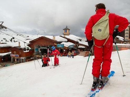 Аренда на лыжном курорте Résidence Pierre et Vacances les Gémeaux - La Plagne - зимой под открытым небом