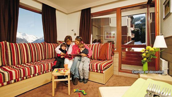 Аренда на лыжном курорте Résidence Pierre et Vacances les Gémeaux - La Plagne - Салон