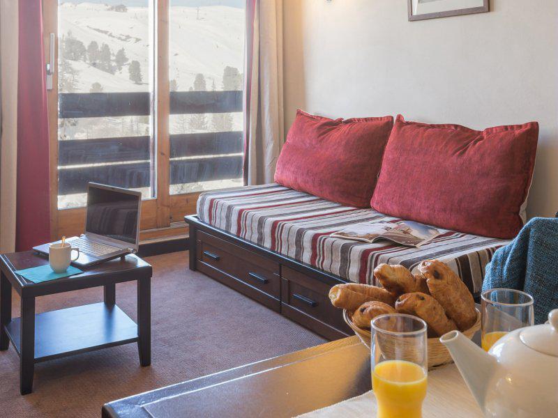 Location au ski Appartement 3 pièces 4-6 personnes - Résidence Pierre & Vacances Belle Plagne le Quartz - La Plagne