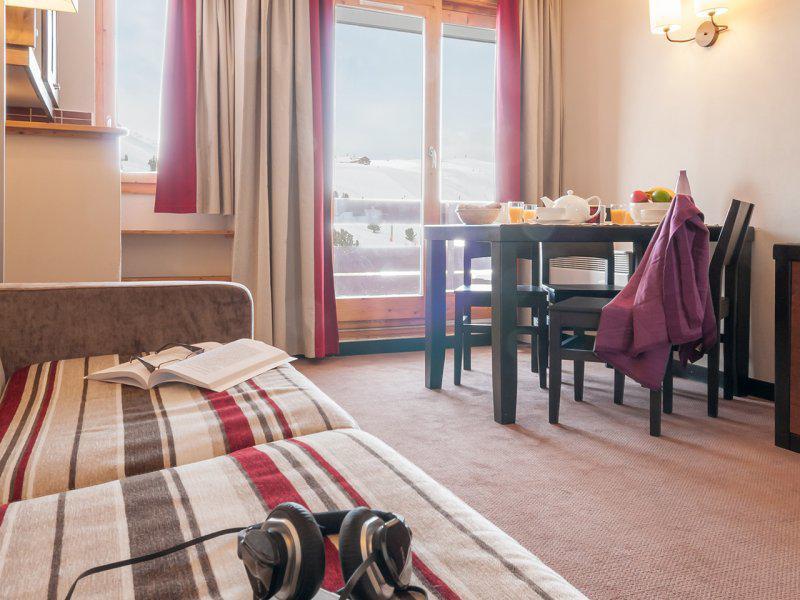 Location au ski Studio 2-4 personnes - Résidence Pierre & Vacances Belle Plagne le Quartz - La Plagne