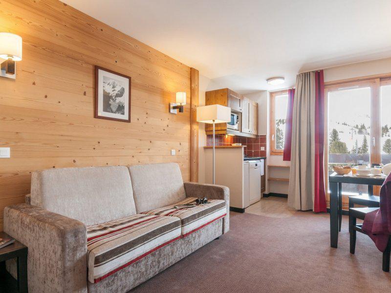 Location au ski Appartement 2 pièces 4 personnes - Résidence Pierre & Vacances Belle Plagne le Quartz - La Plagne
