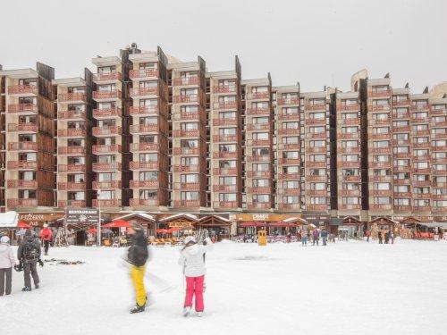 Location au ski Résidence Pierre & Vacances Bellecôte - La Plagne - Extérieur hiver