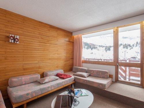 Alquiler al esquí Résidence Pierre & Vacances Bellecôte - La Plagne - Banqueta