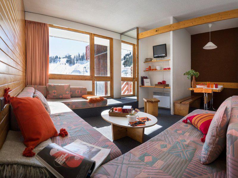Location au ski Résidence Pierre & Vacances Bellecôte - La Plagne - Séjour