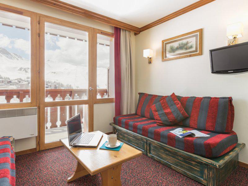 Location au ski Studio 4 personnes - Résidence Pierre & Vacances le Mont Soleil - La Plagne