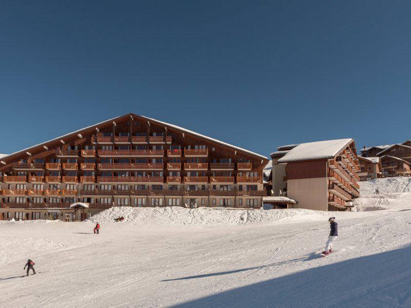 Vacances en montagne Résidence Pierre & Vacances le Mont Soleil - La Plagne - Extérieur hiver