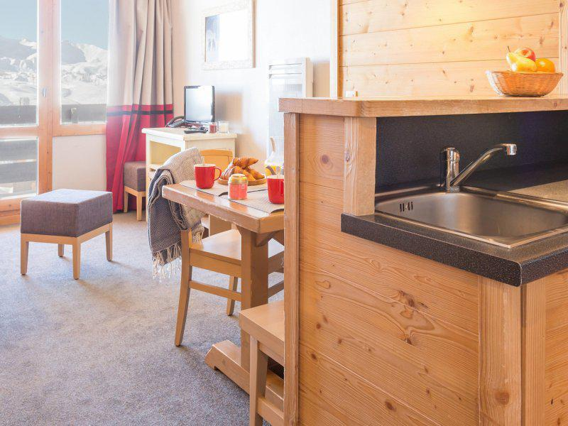 Location au ski Appartement 2 pièces 5 personnes - Résidence Pierre & Vacances les Néréïdes - La Plagne