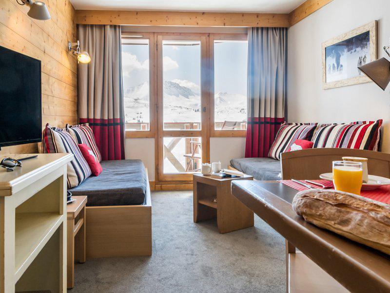 Location au ski Appartement 2 pièces 5-7 personnes - Résidence Pierre & Vacances les Néréïdes - La Plagne