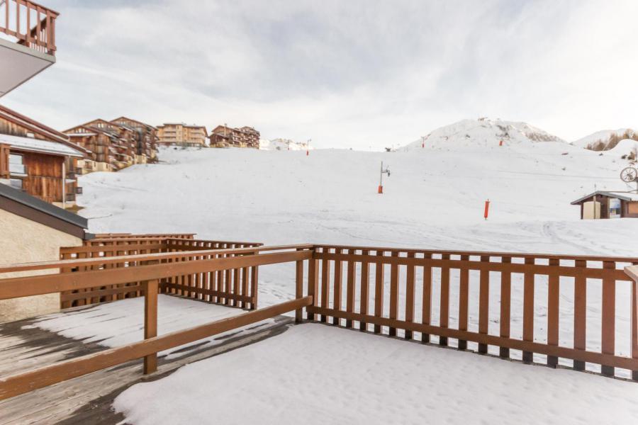 Holiday in mountain resort 2 room triplex apartment 6 people (26) - Résidence Plein Soleil - La Plagne - Winter outside