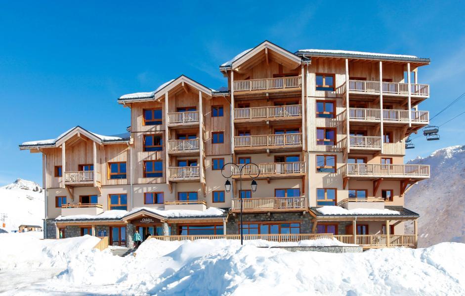 Urlaub in den Bergen Résidence Prestige Front de Neige - La Plagne - Draußen im Winter