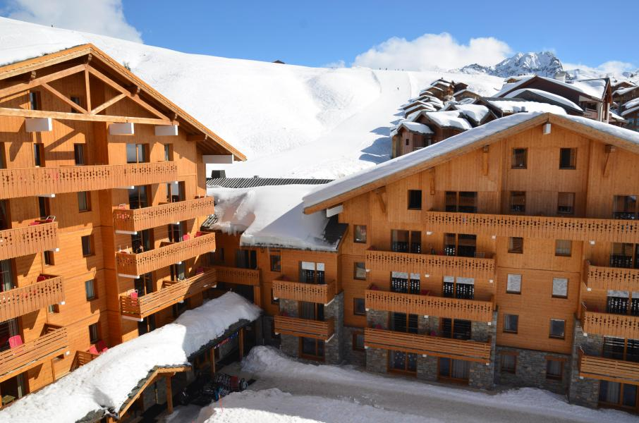 Vacances en montagne Résidence Sun Valley - La Plagne - Extérieur hiver
