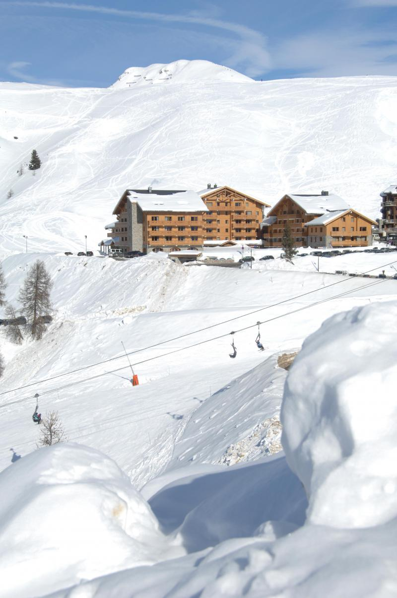 Location au ski Résidence Sun Valley - La Plagne - Extérieur hiver