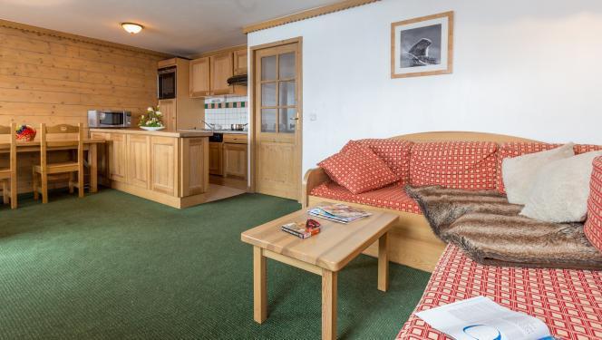 Location au ski Appartement duplex 6 pièces 10-12 personnes - Résidence Sun Valley - La Plagne