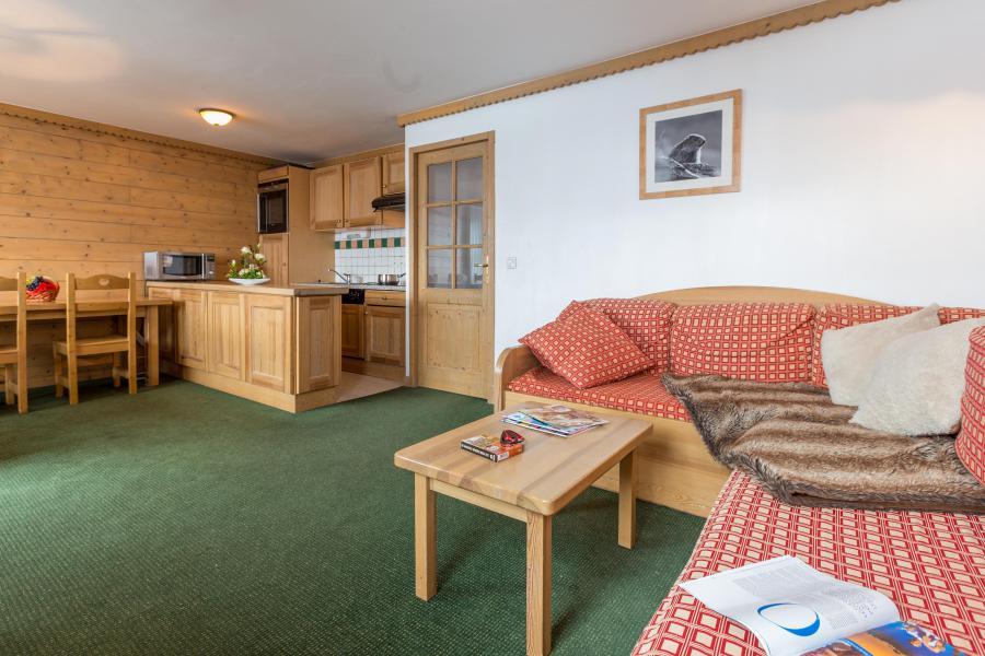 Location au ski Résidence Sun Valley - La Plagne - Canapé