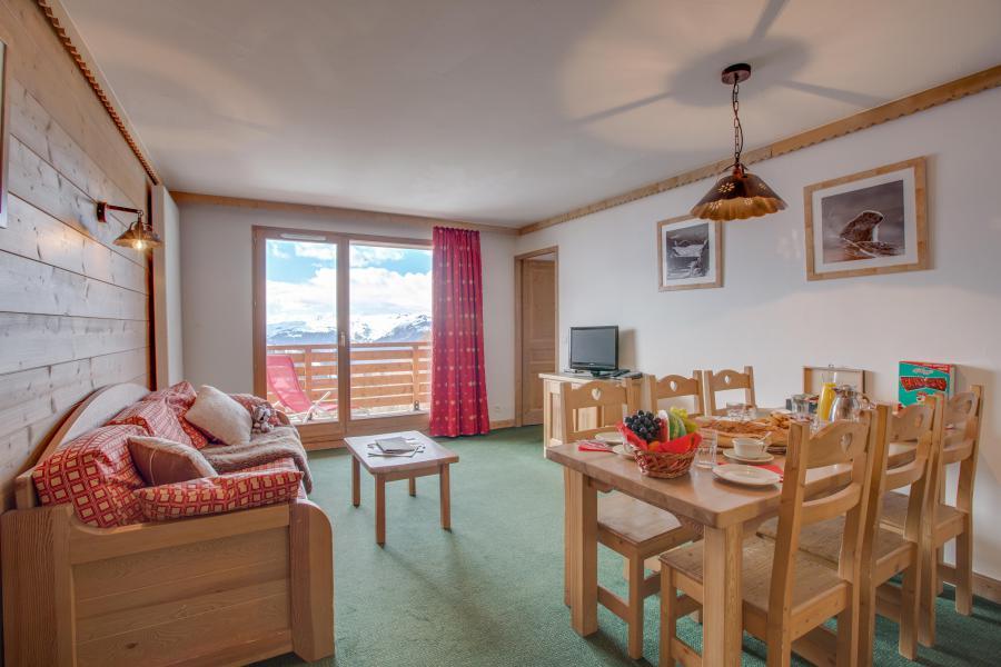 Location au ski Résidence Sun Valley - La Plagne - Coin repas