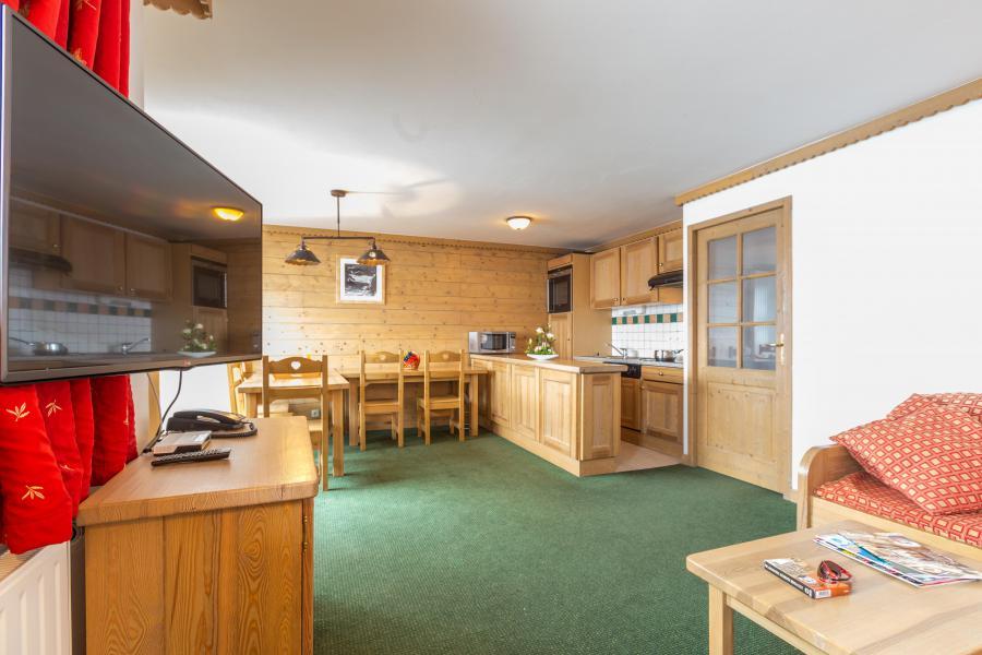 Location au ski Résidence Sun Valley - La Plagne - Cuisine ouverte