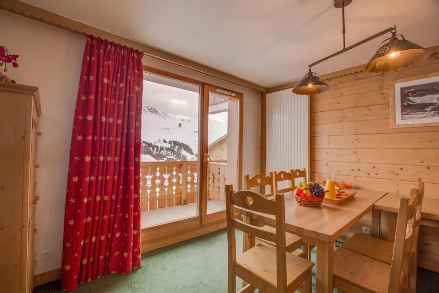 Location au ski Résidence Sun Valley - La Plagne - Porte-fenêtre donnant sur balcon