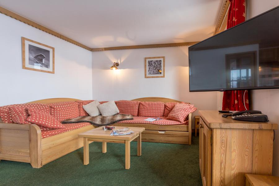 Location au ski Résidence Sun Valley - La Plagne - Tv à écran plat