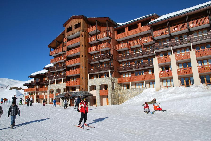 Location au ski Résidence Themis - La Plagne - Extérieur hiver