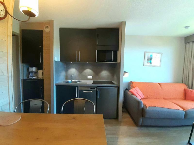 Ski verhuur Studio 4 personen (414) - Résidence Themis - La Plagne - Appartementen