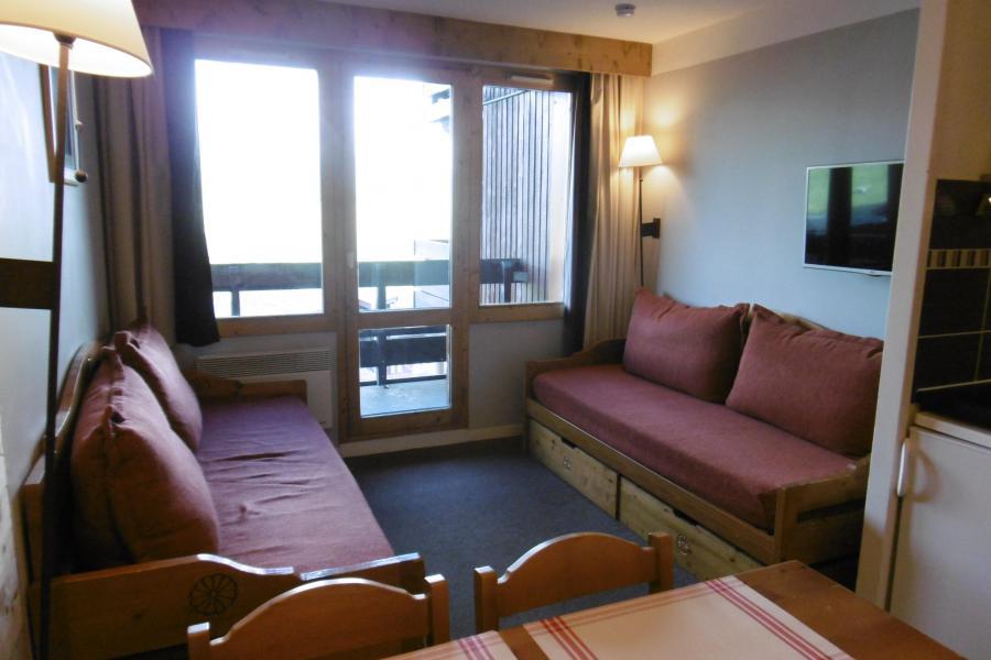 Location au ski Studio 4 personnes (313) - Résidence Themis - La Plagne - Canapé-lit